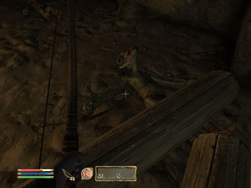 The Elder Scrolls IV: Oblivion Windows Havok physics makes for some interesting traps... I never liked goblins