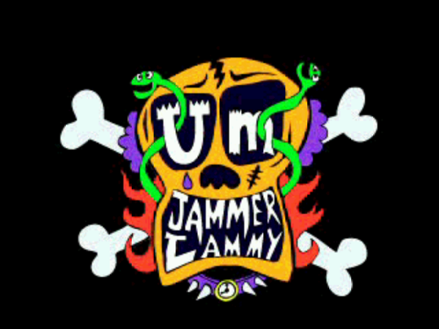 Um Jammer Lammy PlayStation Title screen