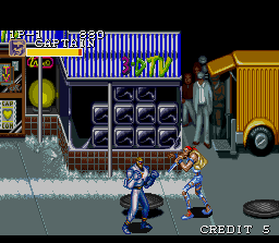Captain Commando SNES Stage 01: The City