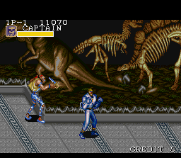 Captain Commando SNES Stage 02: The Museum