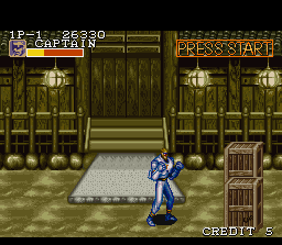 Captain Commando SNES The captain has found a temple