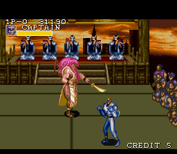 Captain Commando SNES Say hello to Yamato