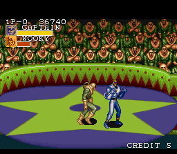 Captain Commando SNES Stage 04: The Circus