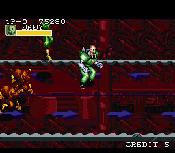 Captain Commando SNES Stage 07: Underground Base