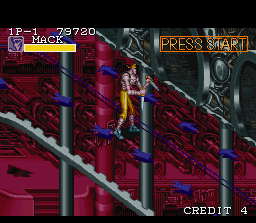 Captain Commando SNES Here's Mack