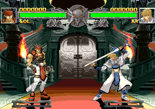 Guilty Gear PlayStation Sol and Ky were arch rivals from day one.
