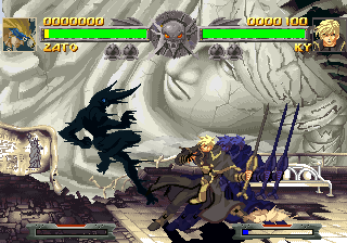 Guilty Gear PlayStation Sprite pallets can also be changed to sooth player's taste.
