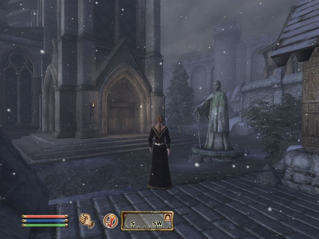 The Elder Scrolls IV: Oblivion Windows Weather effects