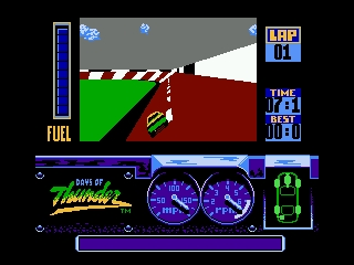 Days of Thunder NES Atlanta qualifying race