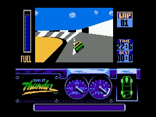 Days of Thunder NES Daytona Qualifying race