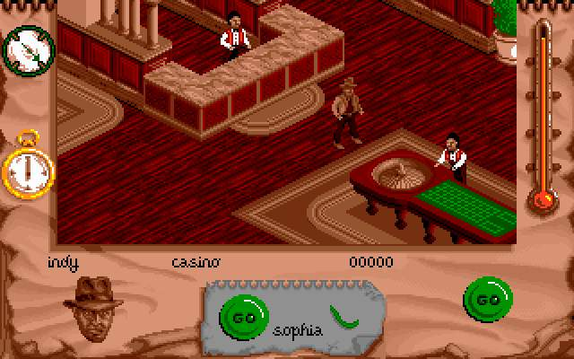 Indiana Jones and The Fate of Atlantis: The Action Game DOS Now, what?