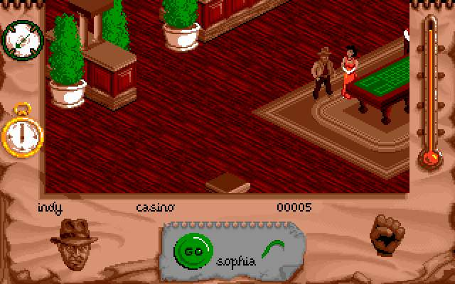 Indiana Jones and The Fate of Atlantis: The Action Game DOS My name is Jones, Dr. Jones.