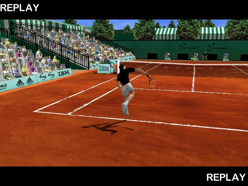 Roland Garros French Open 2001 Windows Smashing!