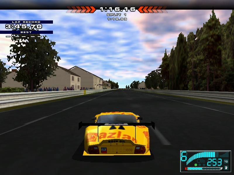 test drive le mans screenshots for windows mobygames. Black Bedroom Furniture Sets. Home Design Ideas