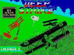 Deep Strike ZX Spectrum Loading screen