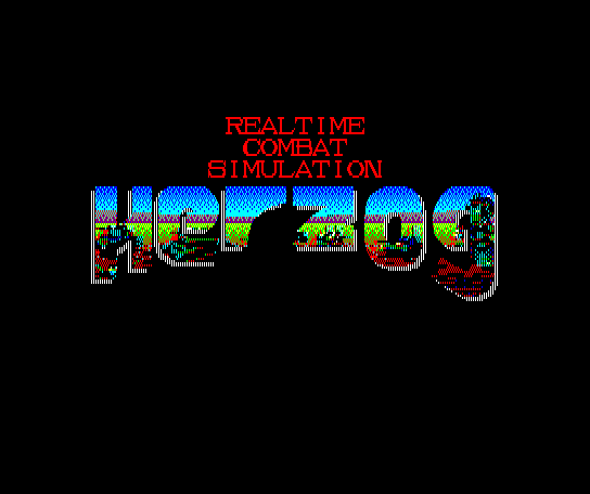 Herzog MSX Title screen