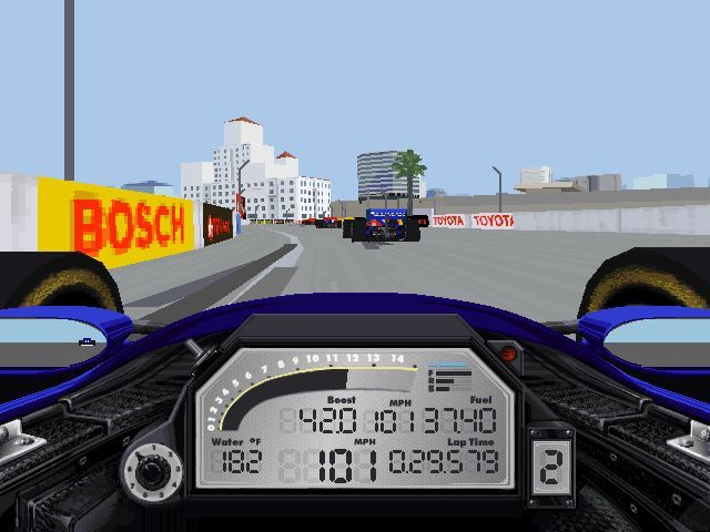 IndyCar Racing II Windows Long Beach