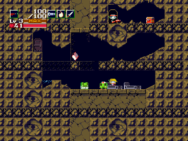 Cave Story Windows Found a secret!