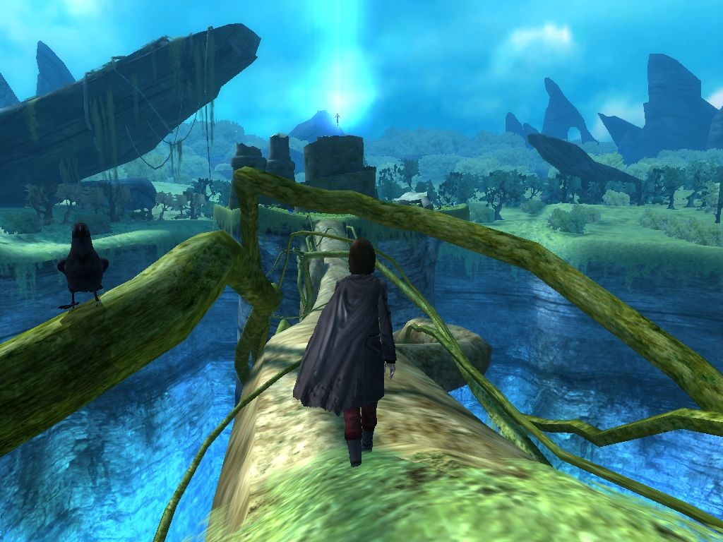 Dreamfall: The Longest Journey Windows The guardian realm: over a bridge