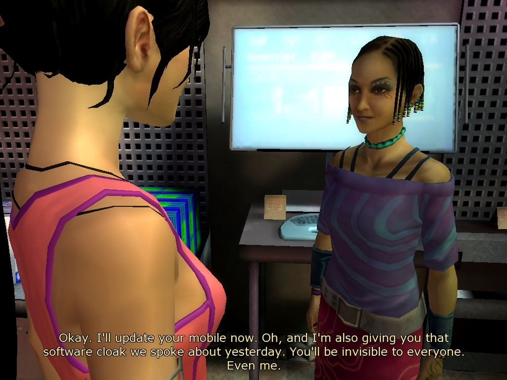 Dreamfall: The Longest Journey Windows Zoë's hacker friend.