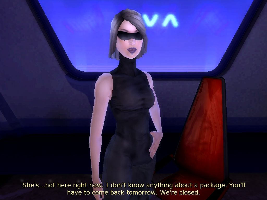 Dreamfall: The Longest Journey Windows Some problems can be passed in different ways: with stealth, disguise, combat, talking, object use.