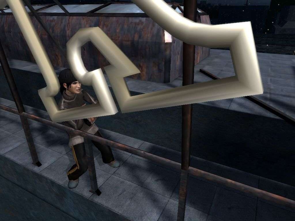 Dreamfall: The Longest Journey Windows Pushing a letter