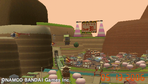 Me & My Katamari PSP Landscape view taken with Photo Mode