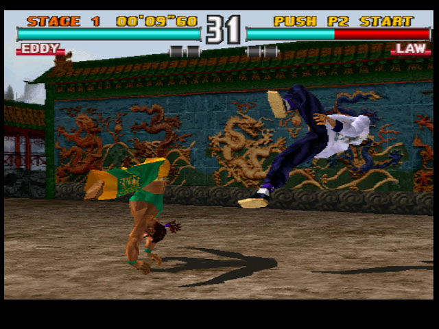 Tekken 3 PlayStation Say hello to Eddy Gordo, the first beat-em-up