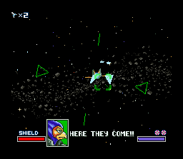 Star Fox SNES Falco is not exactly Fox's best friend, but will help out.