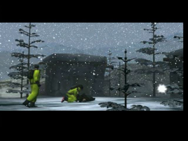 Syphon Filter PlayStation Intro - Lian examines someone infected with the virus