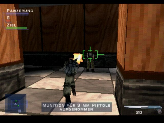 Syphon Filter PlayStation The shotgun is very effective at short distances