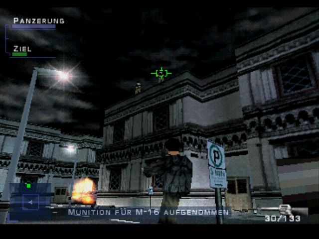 Syphon Filter PlayStation Under attack