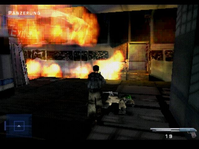 Syphon Filter PlayStation In the subway after a bomb exploded