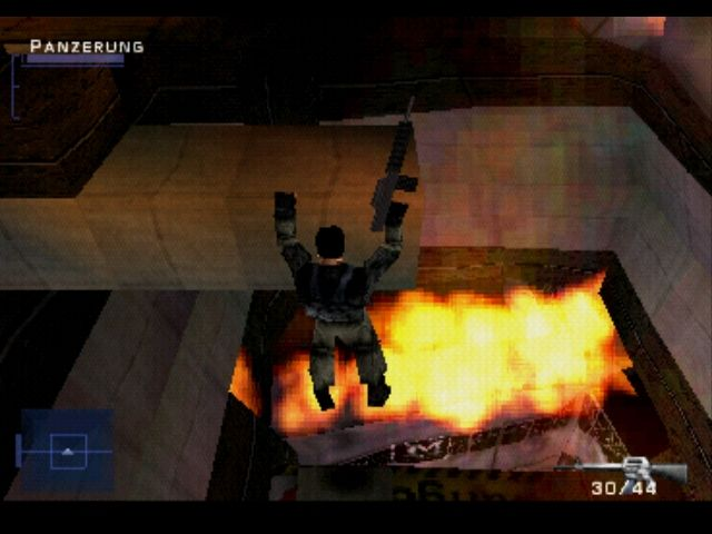 Syphon Filter PlayStation Climbing