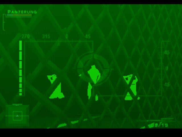 Syphon Filter PlayStation Using the nightvision rifle to rescue two hostages
