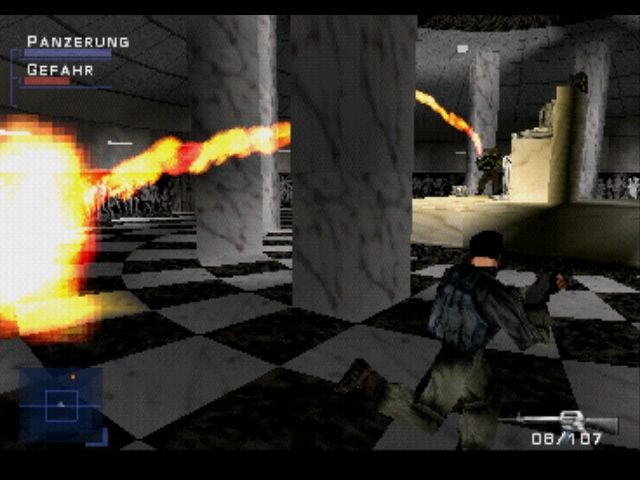 Syphon Filter PlayStation Better avoid that flamethrower