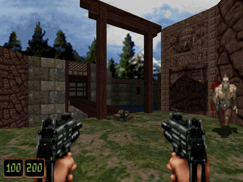 Shadow Warrior DOS Running on modern Hardware at 800x600 32bpp