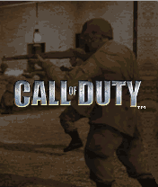 Call of Duty J2ME Title screen