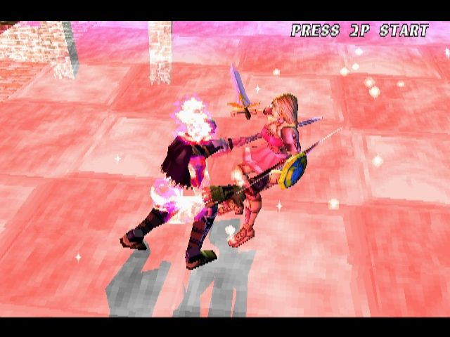 Soul Blade PlayStation Soul Edge has some ridiculously powerful attacks. This is one of the more harmless ones though.