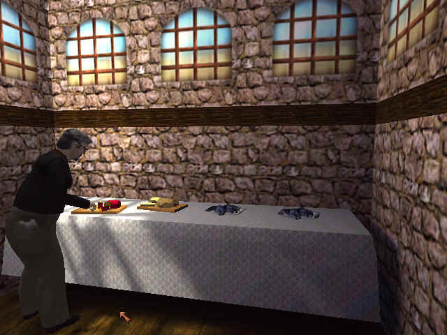 Gabriel Knight 3: Blood of the Sacred, Blood of the Damned Windows Even priests can't resist le fromage francais!