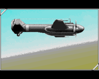 P47 Thunderbolt Amiga Level 1 loading screen