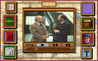 Sherlock Holmes: Consulting Detective - Volume II DOS Talking with yet another person.
