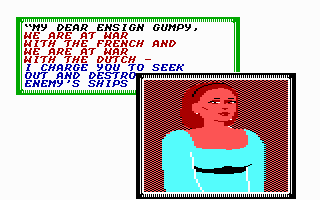 Sid Meier's Pirates! Commodore 64 You may even get a chance to meet the governor's young pretty daughter