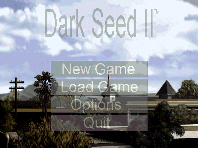 Dark Seed II Windows 3.x Title screen