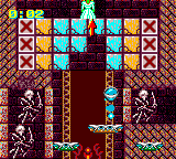 Devilish Game Gear In an ancient castle. Skeleton archers shoot at you as you work your way upstairs
