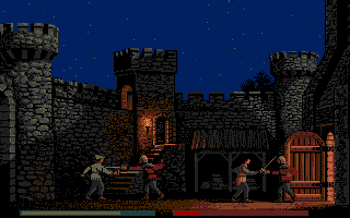 Defender of the Crown Atari ST The fair lady Rosalind has been kidnapped and you and Robin Hood set off to free her.