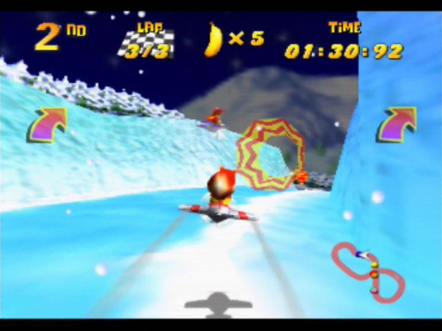 Diddy Kong Racing Hovercraft (N64) - YouTube