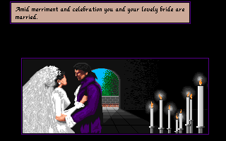 Sid Meier's Pirates! Amiga Your wedding to the girl of your dreams!