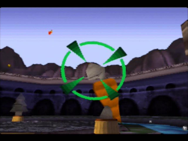 Rocket: Robot on Wheels Nintendo 64 You can use the Hoversplat to paint lots of objects in the world