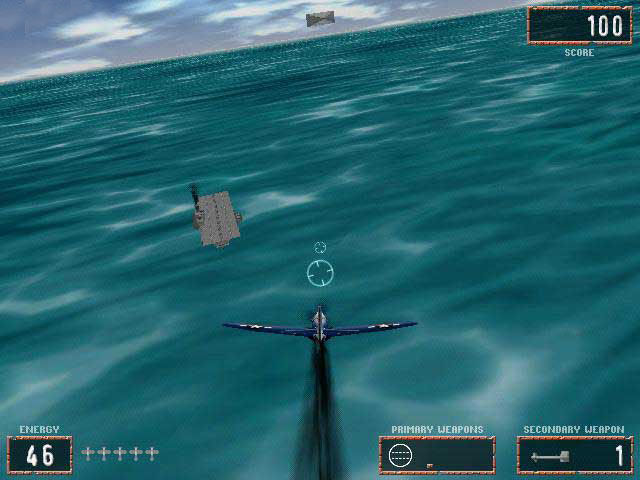 Pacific Warriors: Air Combat Action Windows The water is not the most beautiful I've seen.